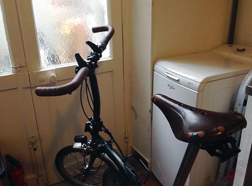 Guidon de vélo de course sur le Brompton : pose et limites Brompton-cintre-humpert-1